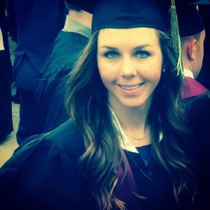 Ashley Weaver MSU Graduate Photo provided by David Weaver